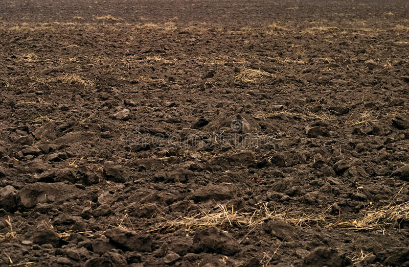 пахотная земля стоковое изображение