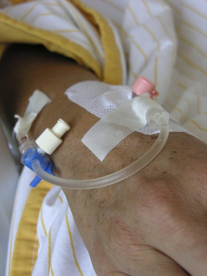пациент стоковое изображение rf