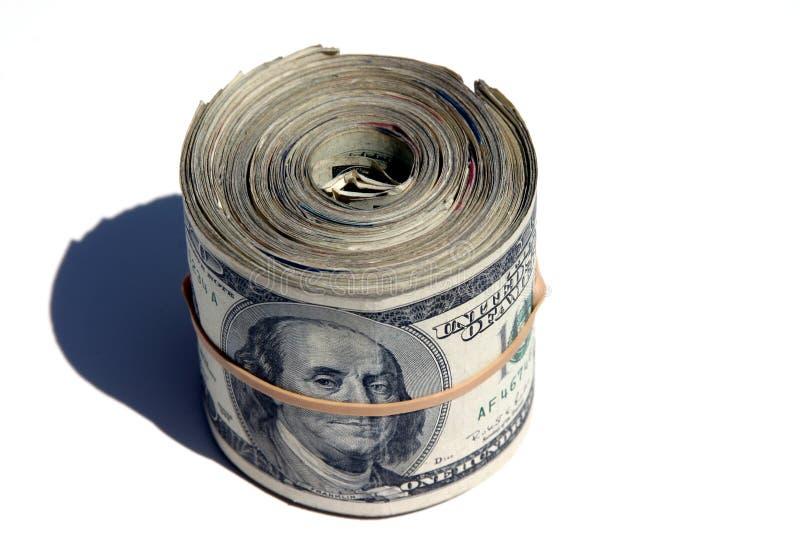 пачка банкнот стоковые фото