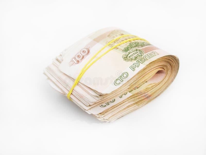 Пачка русских кредиток стоковое изображение rf
