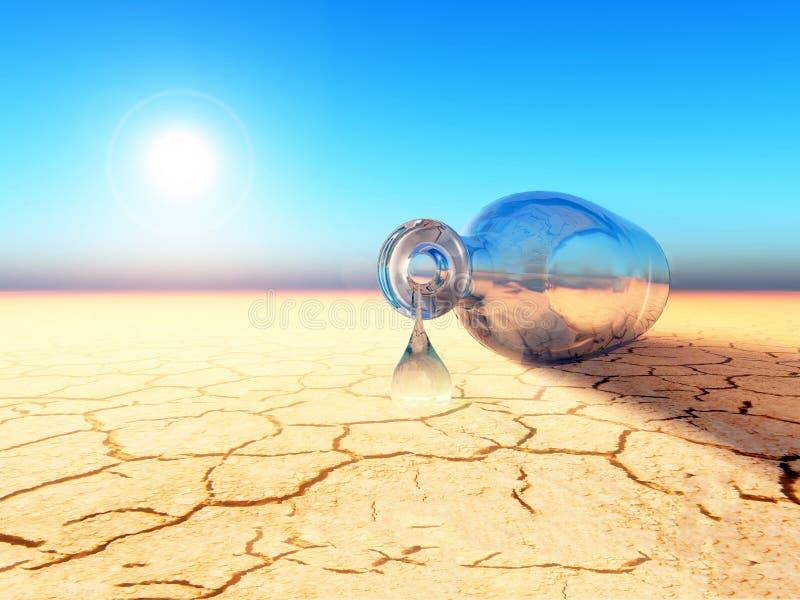 Падение воды на всю жизнь иллюстрация штока