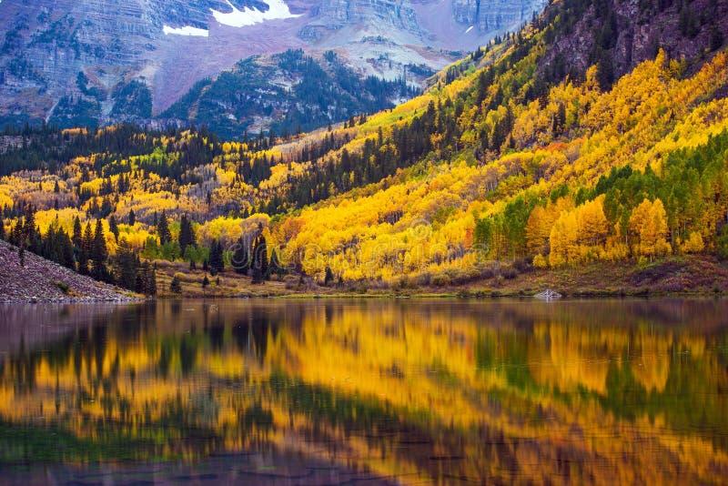 Падение в Колорадо стоковые фотографии rf