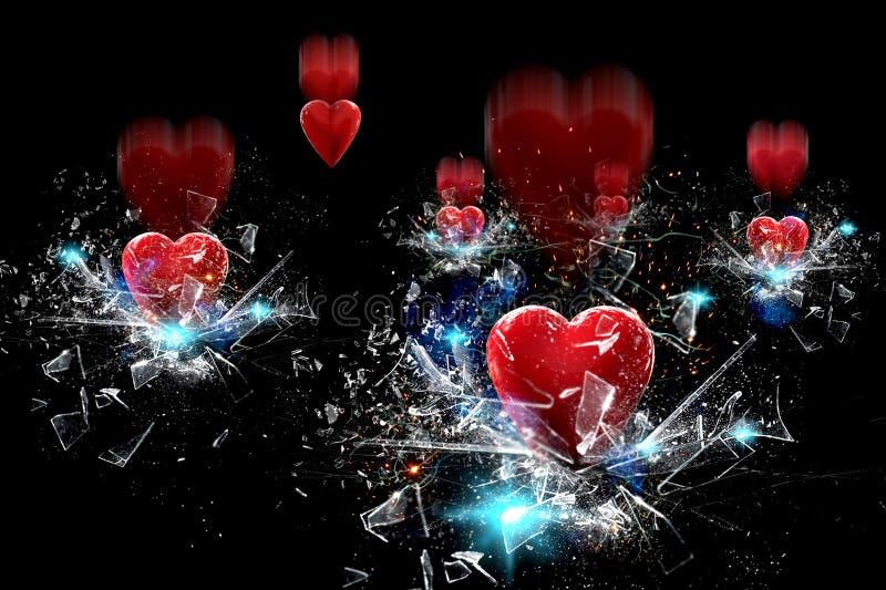 Падение сердца бесплатная иллюстрация