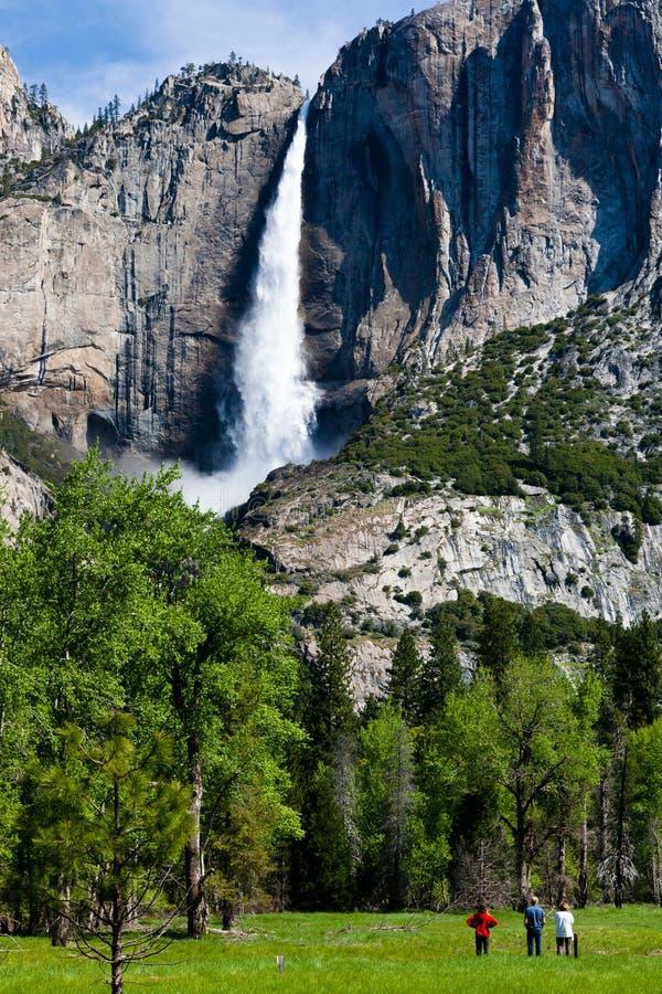 Падение Yosemite стоковое изображение