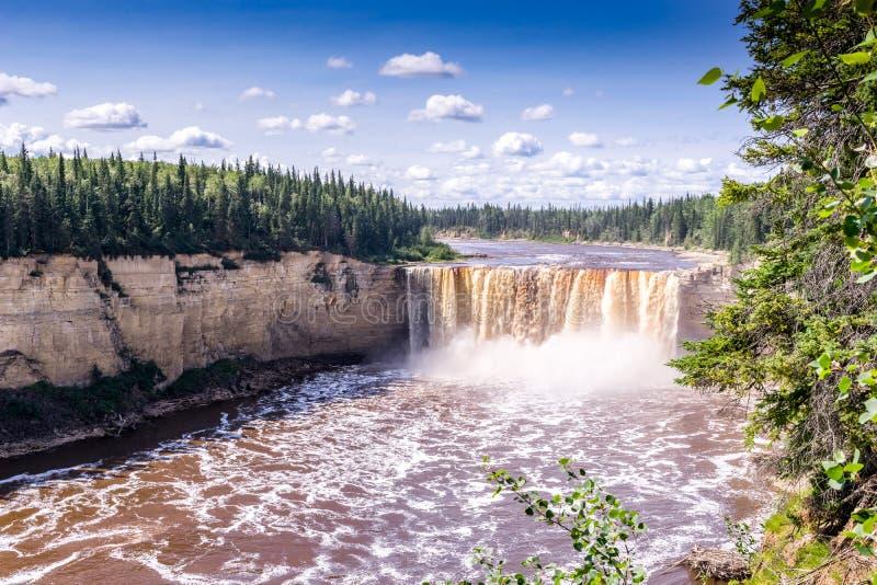 падения Александры в 32 метра, река сена стоковая фотография rf