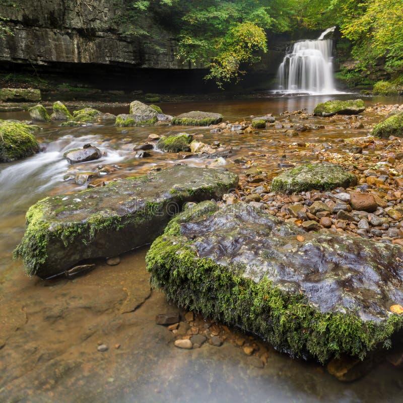 Падения котла, западное Burton, Йоркшир, Великобритания стоковые фотографии rf