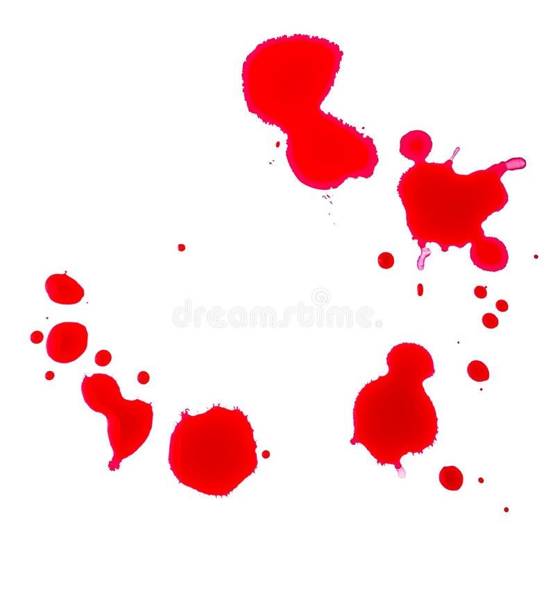 Падения крови стоковая фотография rf