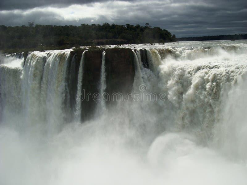 Падения Iguazú стоковое фото