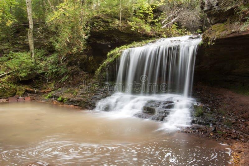 Падения Lost Creek стоковые изображения