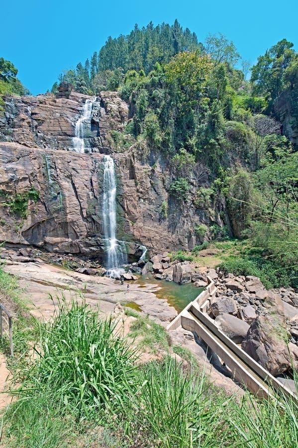 Падения Ramboda, Шри-Ланка стоковые фото