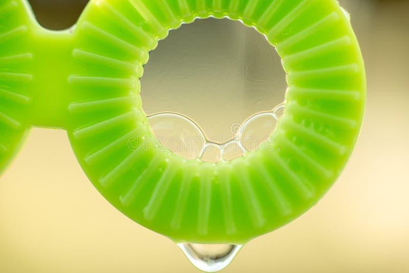 Палочка пузыря с потеком стоковое изображение