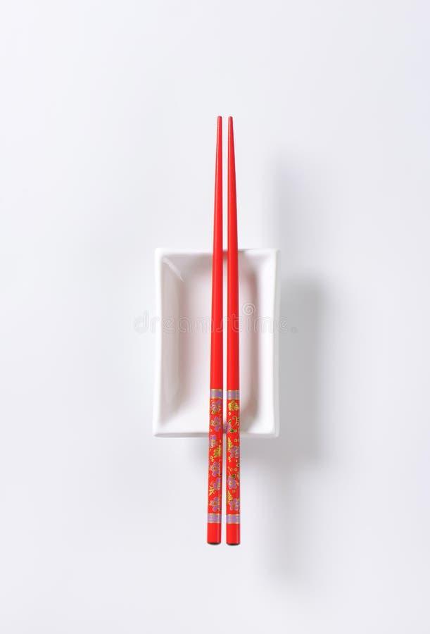 Палочки и шар стоковое изображение