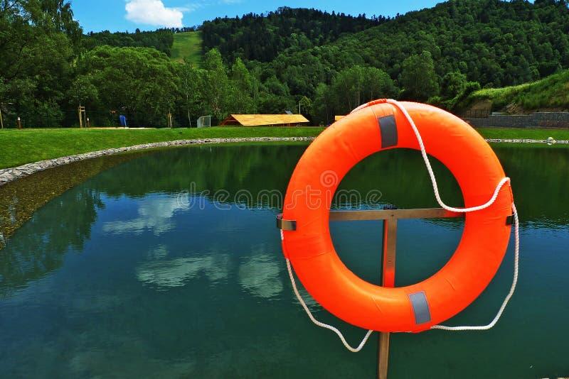 Палуба на бассейне стоковое изображение