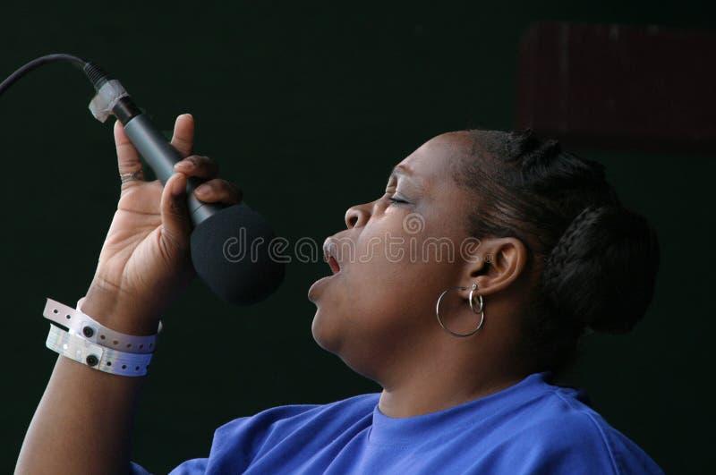 Певица #1 Евангелия торнадоов стоковые фотографии rf