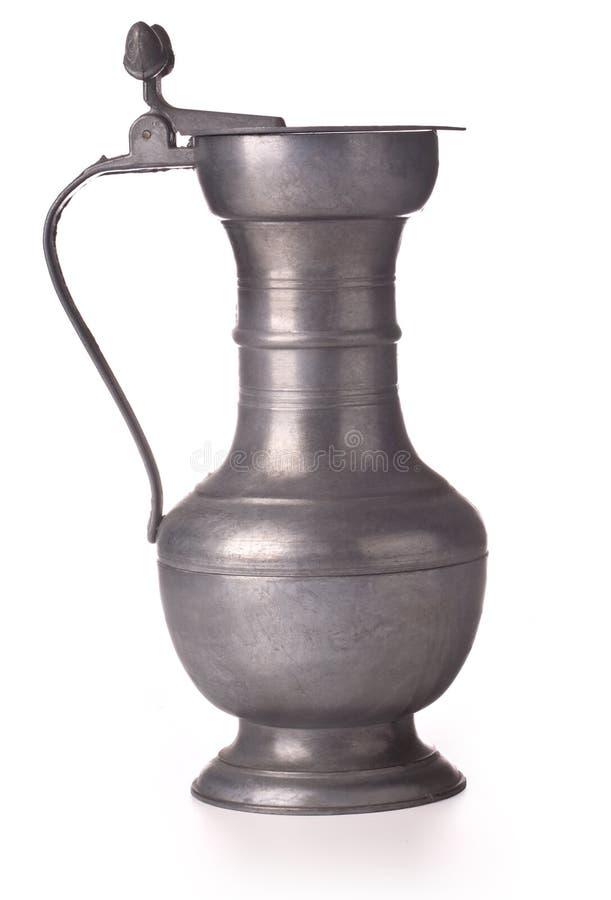 певтер кувшина пива стоковое изображение rf