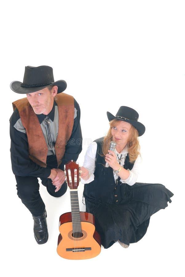 певцы кантри западные стоковые изображения
