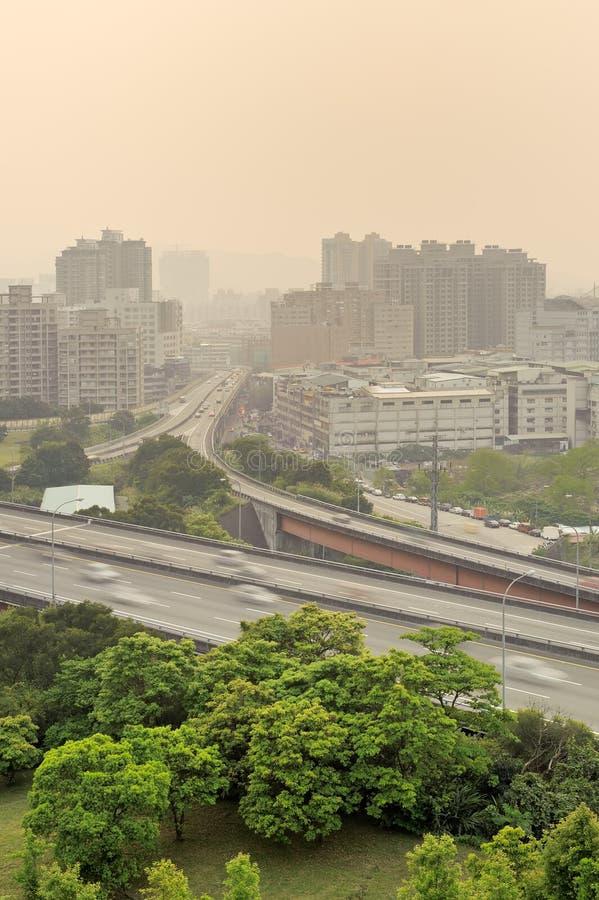 пейзаж города стоковое фото rf