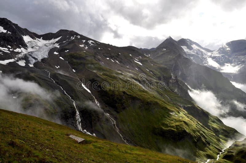 пейзаж горы стоковые фотографии rf