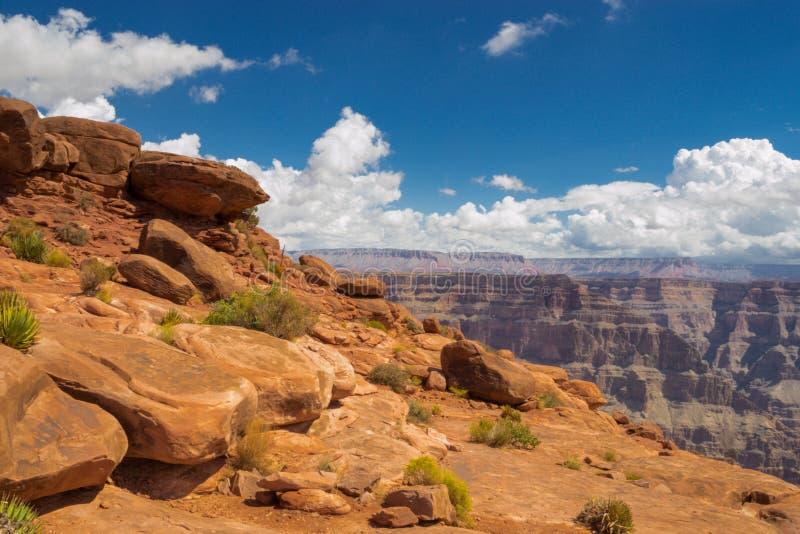 Пейзаж Гранд Каньона в дневное время стоковое изображение rf