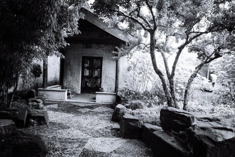 Пейзаж древнего города Wuxi Huishan стоковые изображения rf