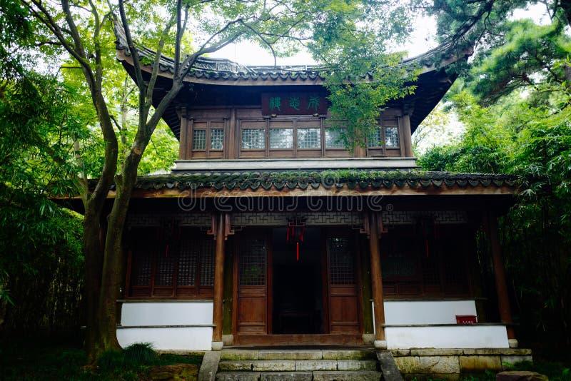 Пейзаж древнего города Wuxi Huishan стоковые изображения