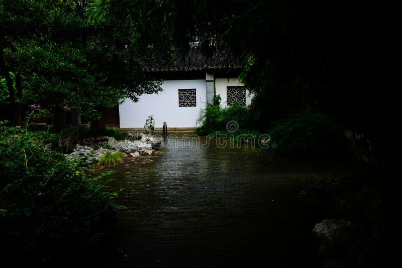 Пейзаж древнего города Wuxi Huishan стоковое изображение rf