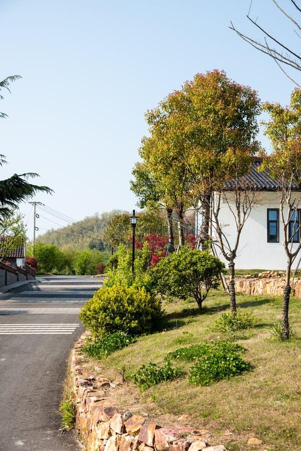 Пейзаж деревни Huanglongxian стоковая фотография