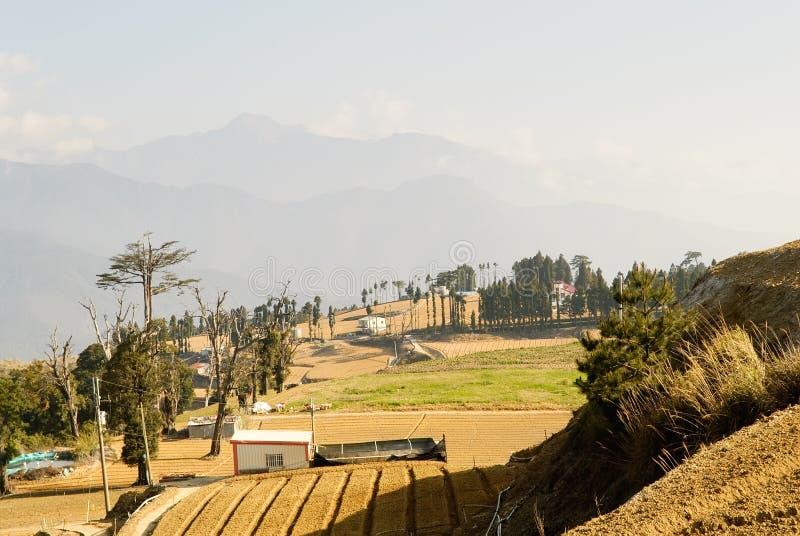 пейзаж ландшафта сельский стоковая фотография rf