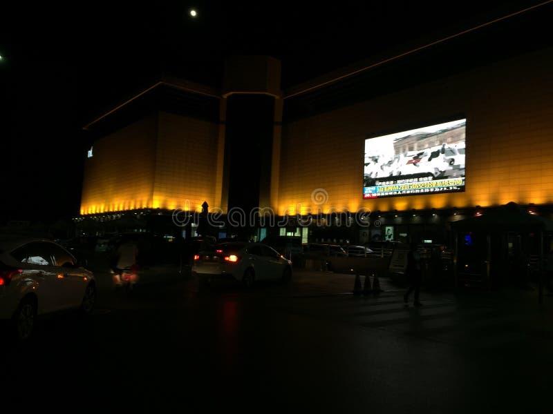 пейзаж ночи фарфора стоковое изображение rf