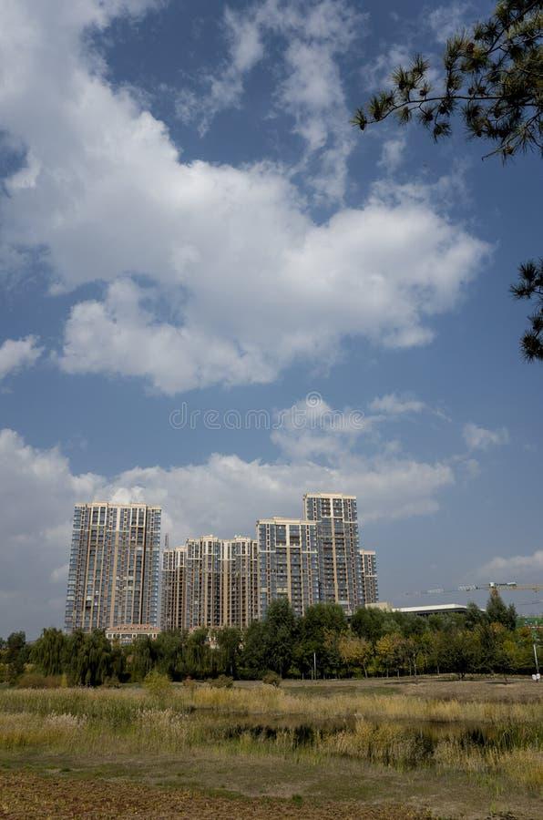 Пейзаж озера Wen Ying стоковое изображение