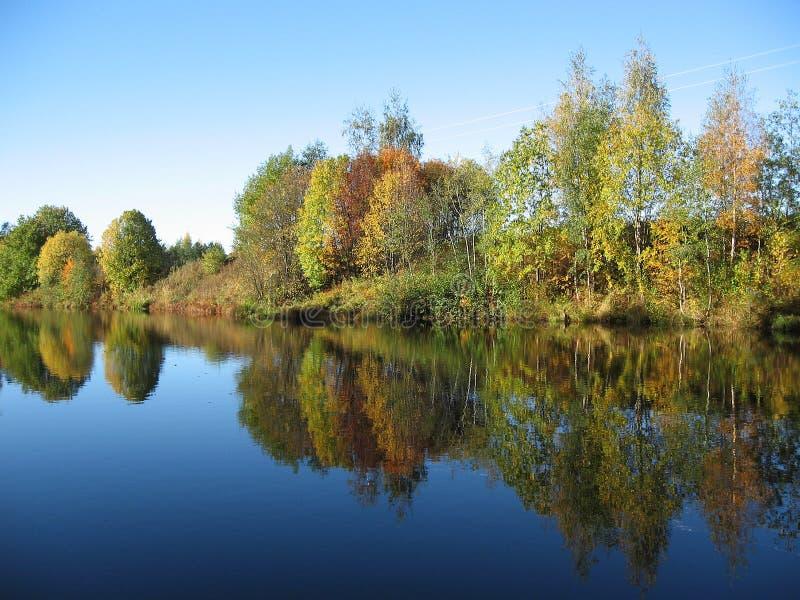 пейзаж осени красивейший стоковое фото rf