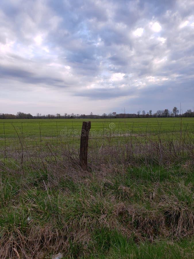 Пейзаж страны стоковое фото rf
