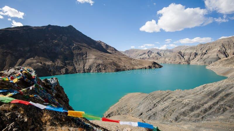 Пейзаж Тибета стоковые изображения rf