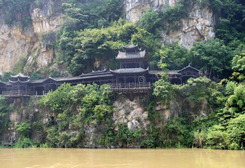 Пейзаж ущелья Xiling стоковые фотографии rf