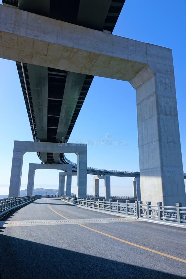 Пейзаж шоссе горы стоковое фото