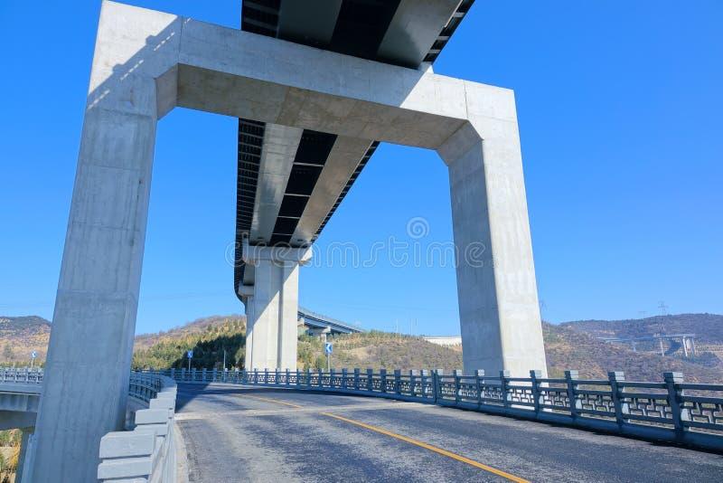 Пейзаж шоссе горы стоковая фотография rf