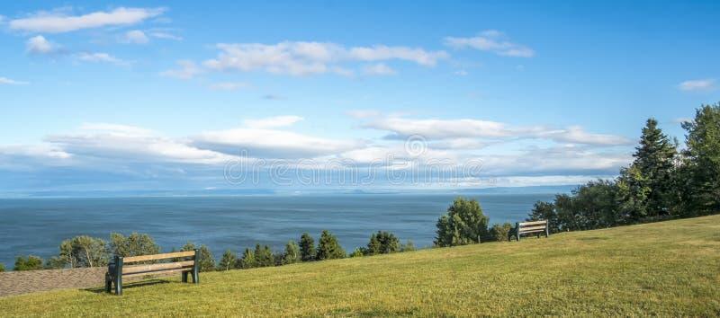Пейзаж Charlevoix стоковая фотография rf