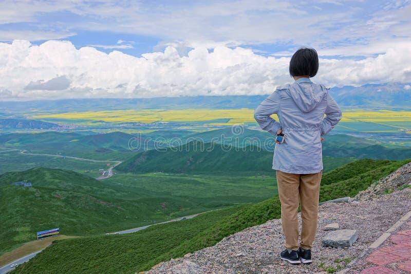 Пейзаж Menyuan стоковые изображения