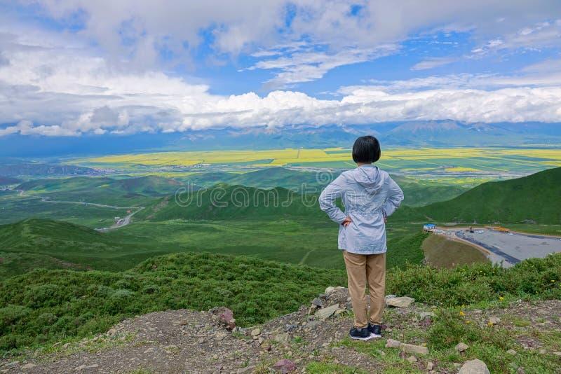 Пейзаж Menyuan стоковое изображение rf