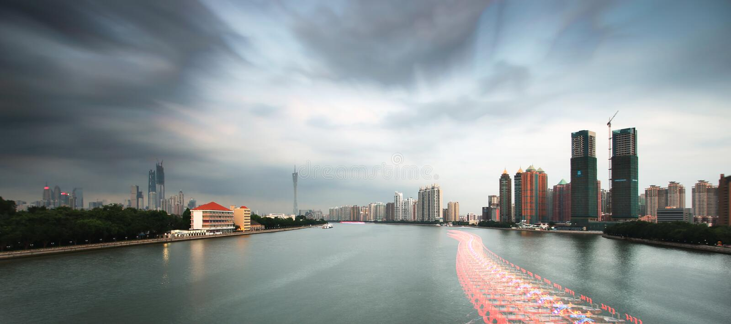 Пейзаж Pearl River стоковое изображение rf