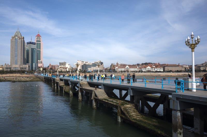 Пейзаж Qingdao стоковые фото