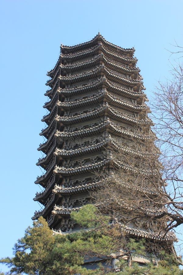 Пекинский университет стоковая фотография rf