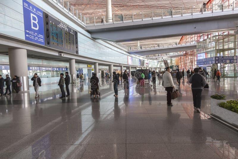 Пекин, авиапорт Китая стоковое изображение