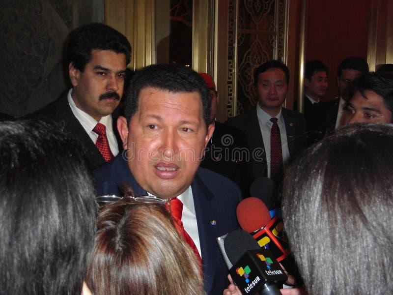 Hugo Chavez стоковое изображение
