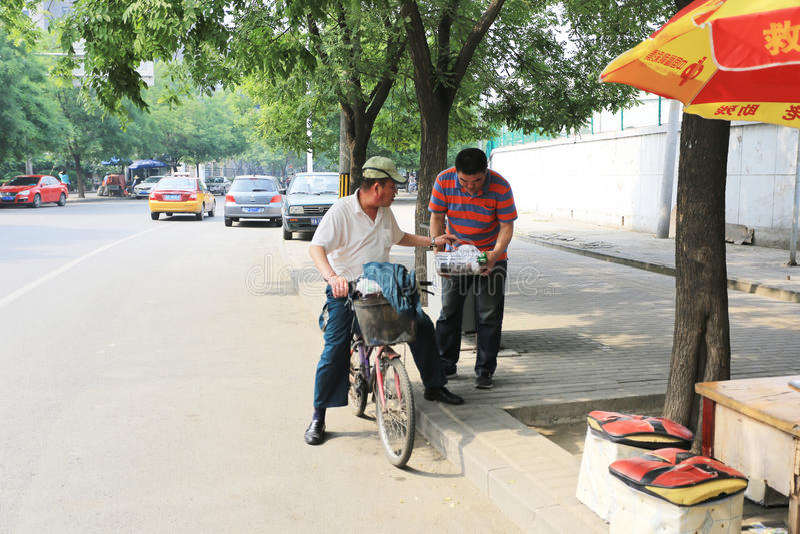 Пекин panjiayuan стоковое фото