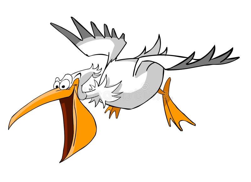 пеликан иллюстрация штока