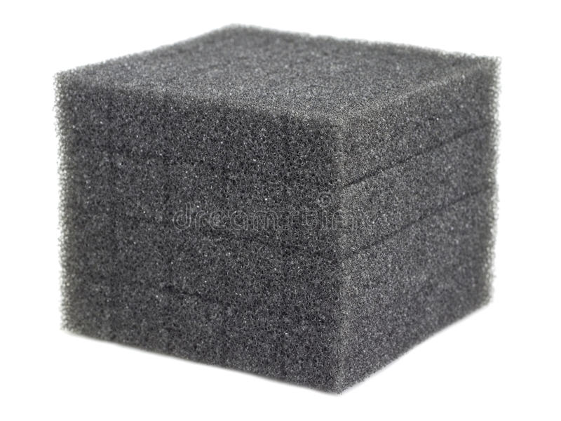 пена кубика стоковое изображение