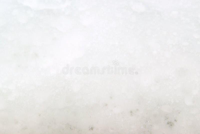Пена мыла и предпосылка пузырей белая текстура стоковые изображения rf