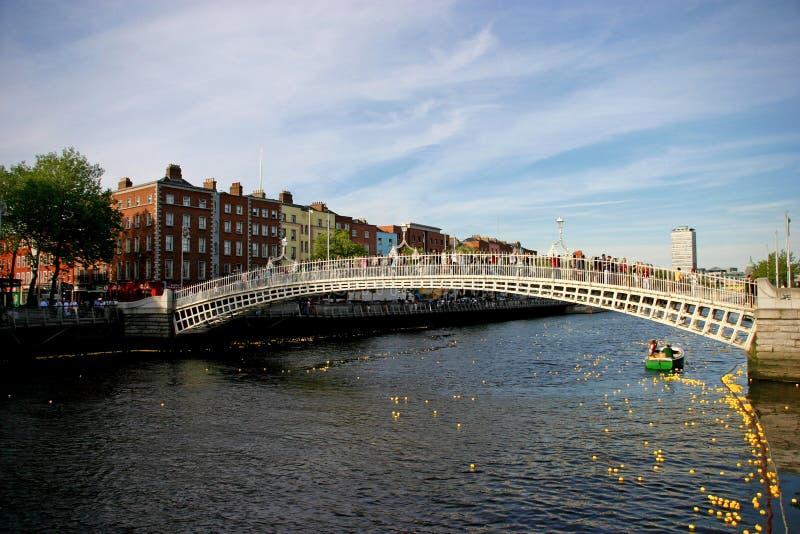 пенни dublin ha моста стоковое фото rf