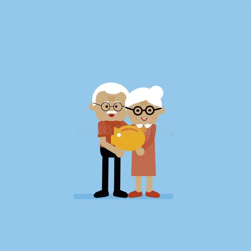 пенсия бесплатная иллюстрация